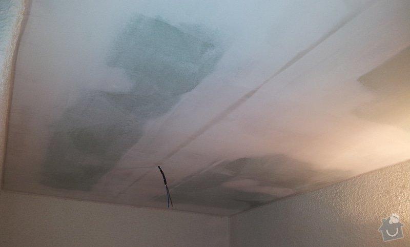 Montáž sádrokartonových stropů: 20130131_162817