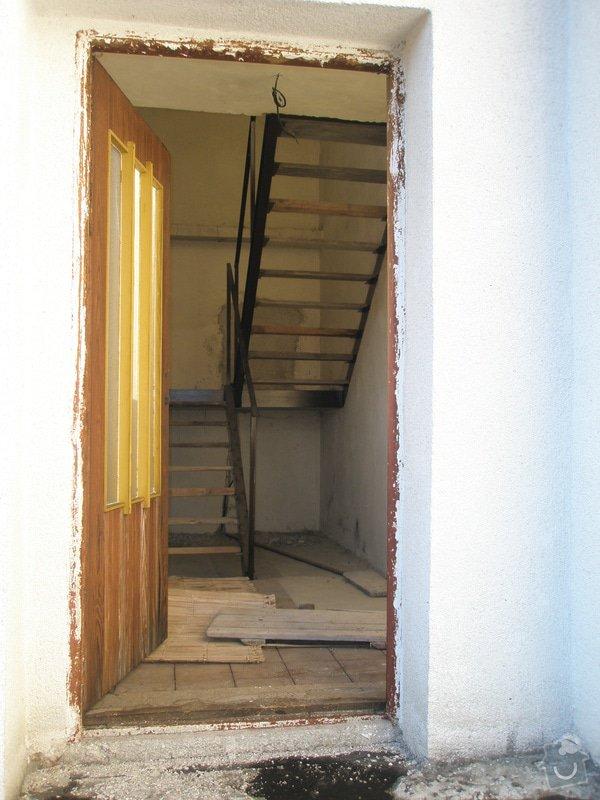 Betonové schodiště v RD: 8