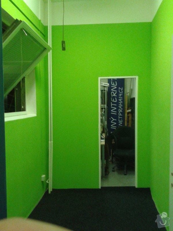 Sádrokartonová příčka včetně dveří cca 5,6m2: 20130206_1958282