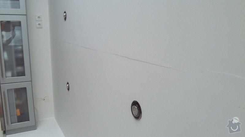 Oprava sadrokartonových stropů: 2