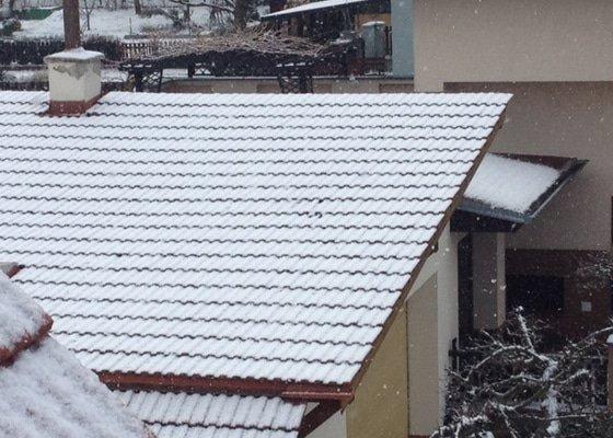 Rekonstrukce střechy a izolace nad garáží