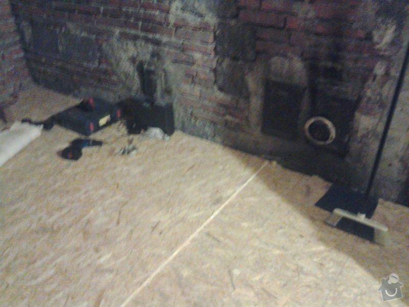 Zhotovení podlah v rodiném bytě: Fotografie0677