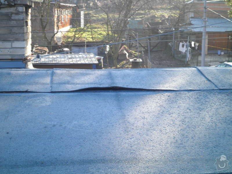 Oprava a zateplení střechy: PC200134