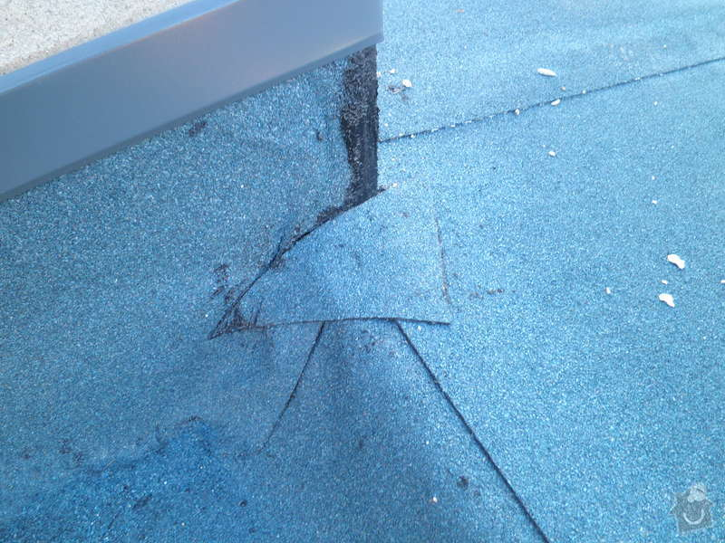Oprava a zateplení střechy: PC200136