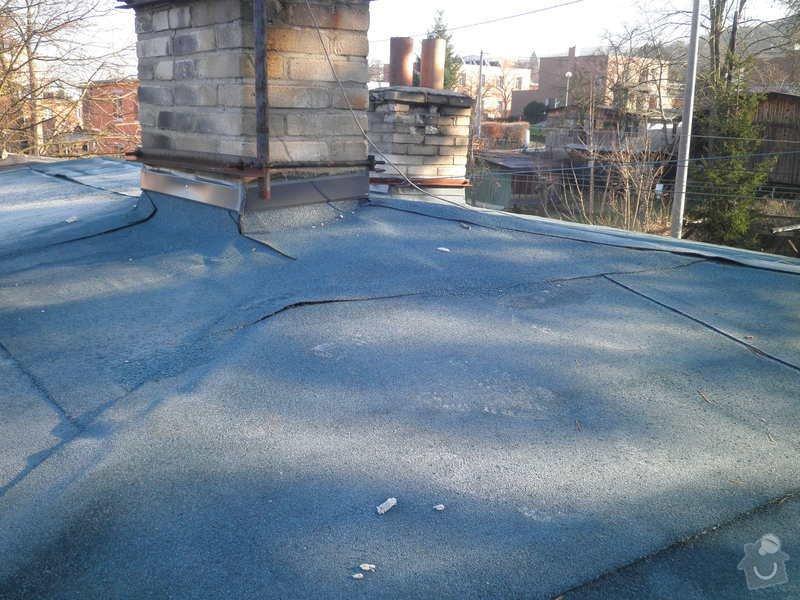 Oprava a zateplení střechy: PC200141
