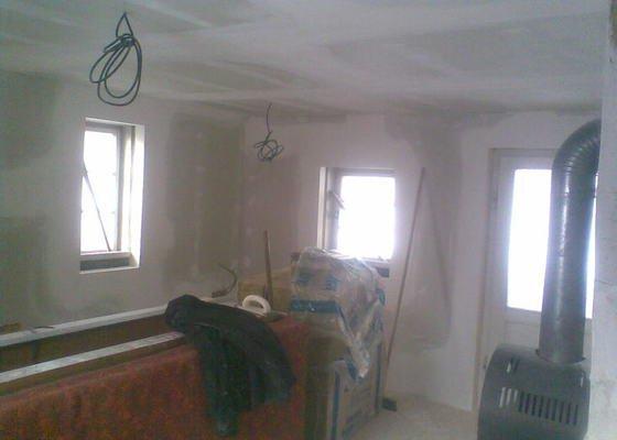 Obklad stěn a stropů SDK+zateplení
