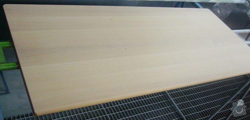 Lakování (nástřik, stříkání) bukového dřeva do vysokého lesku: P1030669