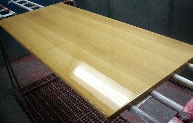 Lakování (nástřik, stříkání) bukového dřeva do vysokého lesku: P1030813