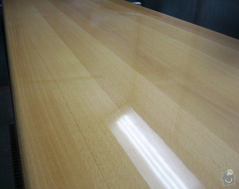 Lakování (nástřik, stříkání) bukového dřeva do vysokého lesku: P1030814