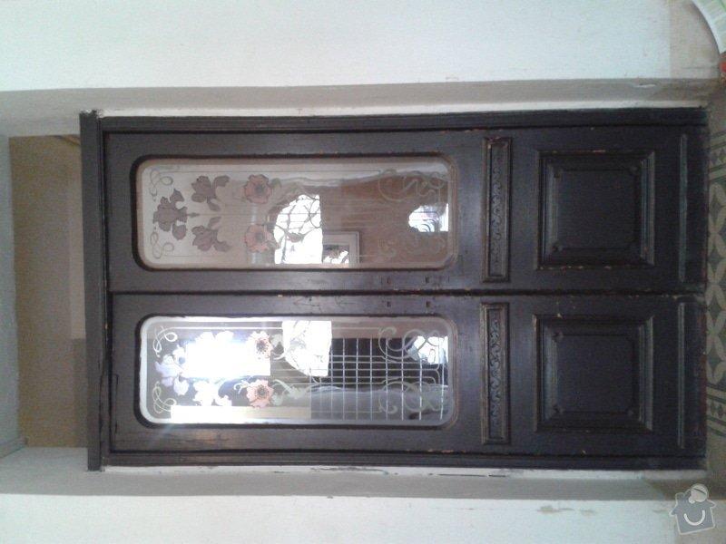 Renovace vchodových a dalších dveří v činžovním domě v Praze 2,ul. Šumavská: dvere2