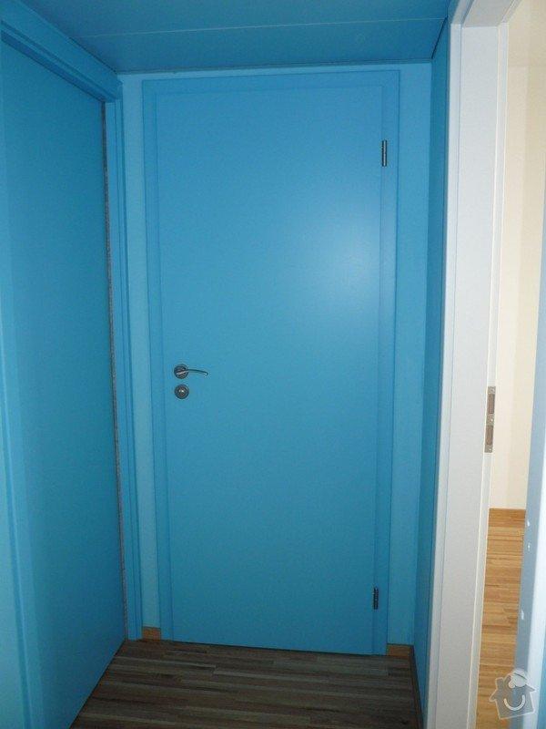 Lakování (nástřik, stříkání) MDF dveří a obložek: P1040362