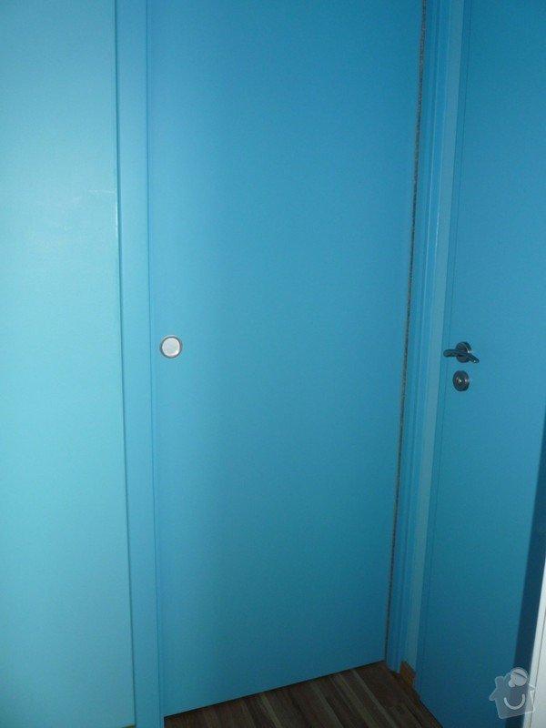 Lakování (nástřik, stříkání) MDF dveří a obložek: P1040363