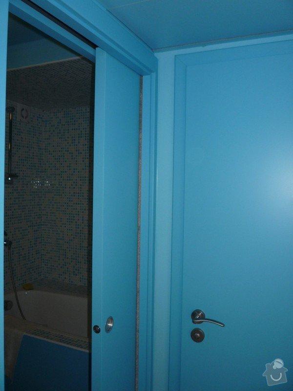 Lakování (nástřik, stříkání) MDF dveří a obložek: P1040364