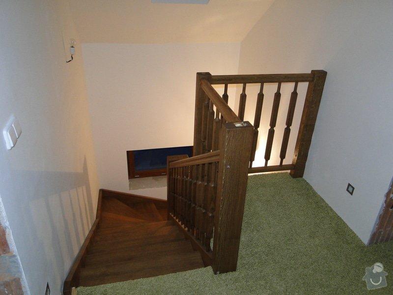 Dřevěné schodiště: DSC02999
