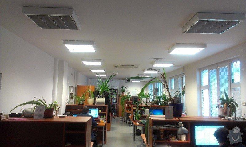 Akustické ztišení kancelářské místnosti: IMAG0273