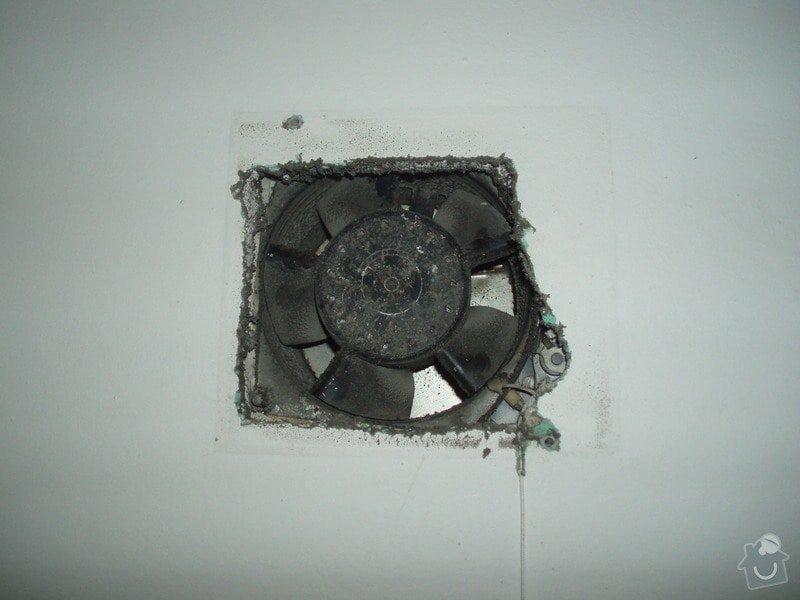 Výměna krytu ventilátoru WC + koupelna: P2110169