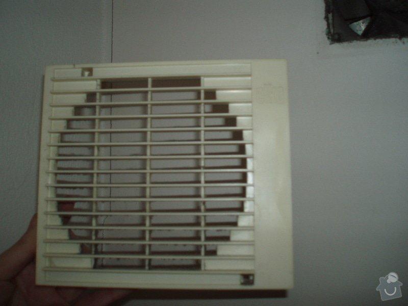 Výměna krytu ventilátoru WC + koupelna: P2110171