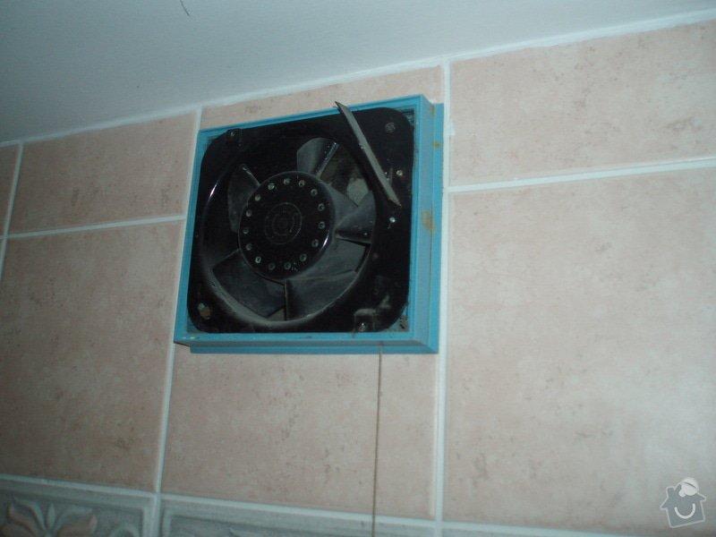 Výměna krytu ventilátoru WC + koupelna: P2110172