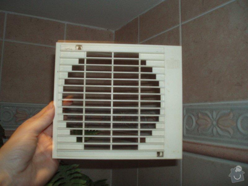 Výměna krytu ventilátoru WC + koupelna: P2110173
