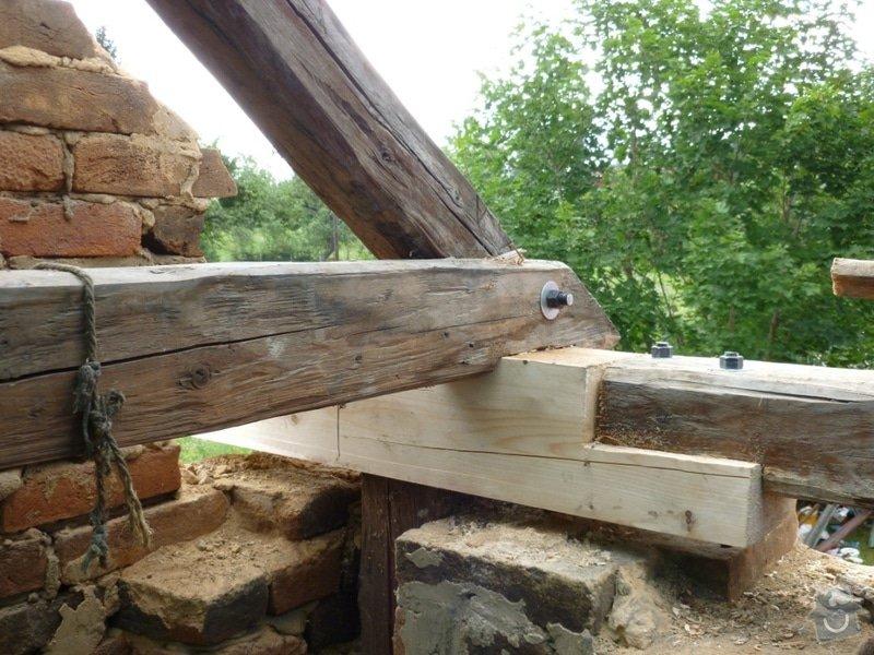 Oprava  krovu, pokládka krytiny Satjam: P1000056