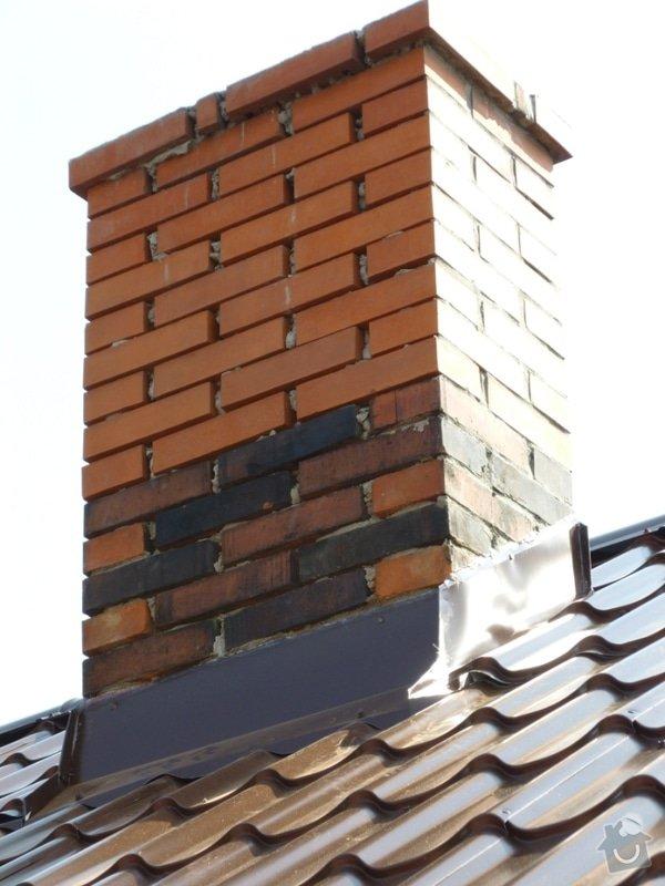 Oprava  krovu, pokládka krytiny Satjam: P1000105