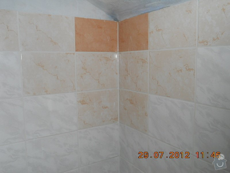 Rekonstrukce koupelny: po.