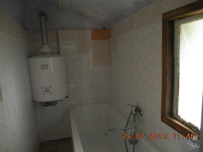 Rekonstrukce koupelny: pred...