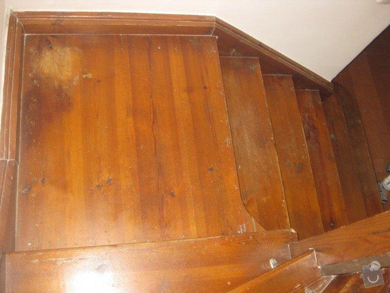 Brouseni a lakovani schodu: schody3