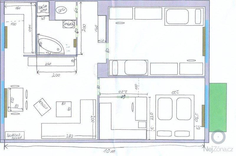 Rekonstrukce bytu 3+1: orientacny_plan