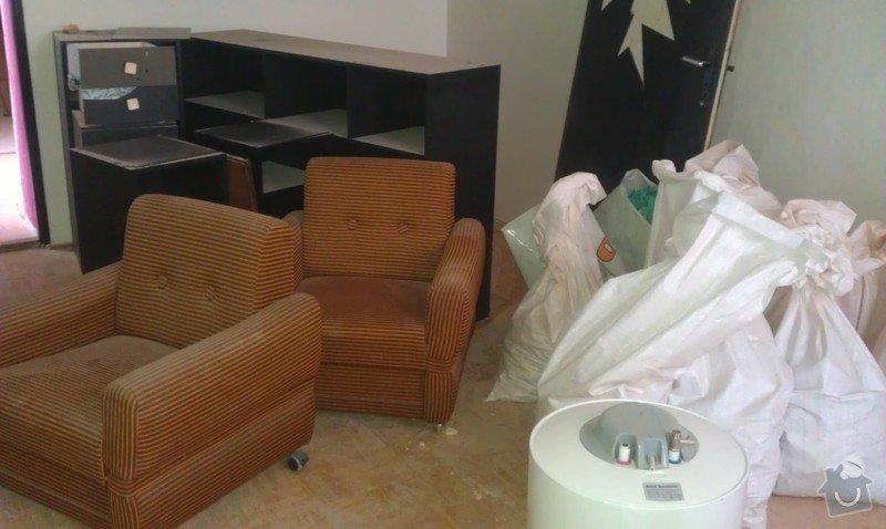 Odvoz nábytku a desek do sběrného dvora: IMAG0450