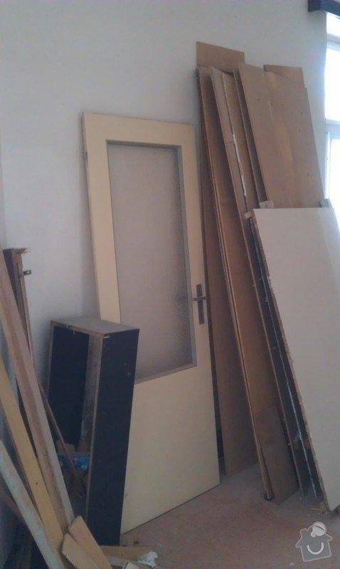 Odvoz nábytku a desek do sběrného dvora: IMAG0452