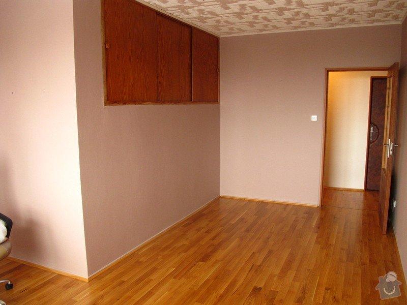 Renovace dřevěné podlahy a malování: podlaha_009