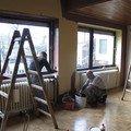 Renovace drevene podlahy a malovani podlaha 003