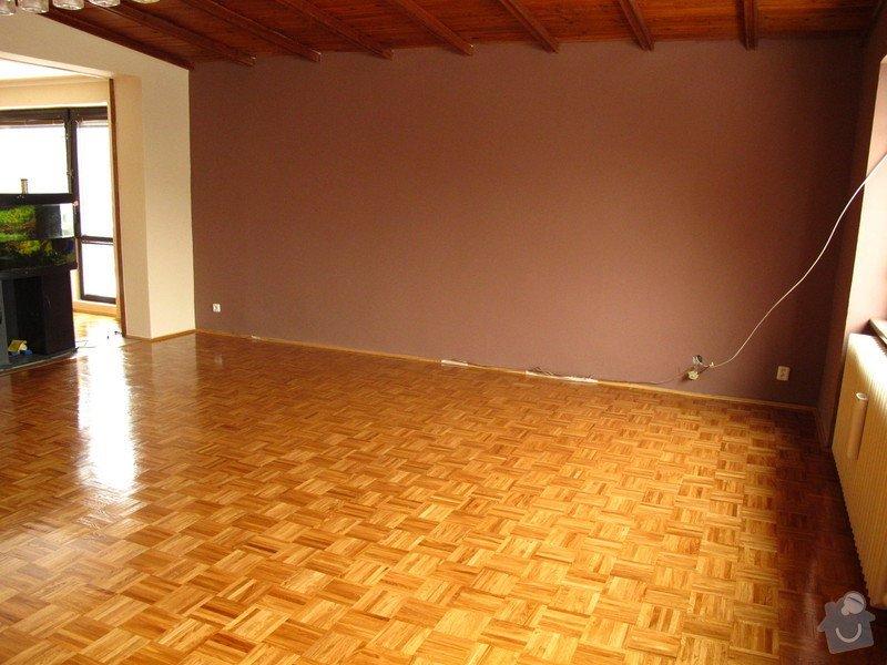 Renovace dřevěné podlahy a malování: podlaha_007