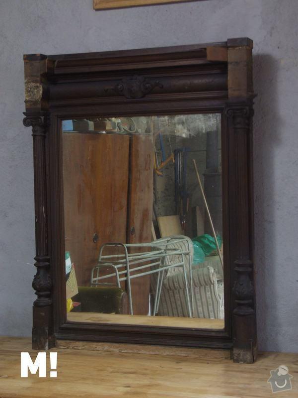 Restaurování zrcadla: DSCF9218