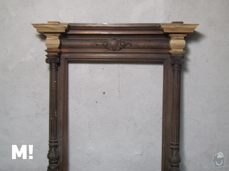 Restaurování zrcadla: DSCF9315