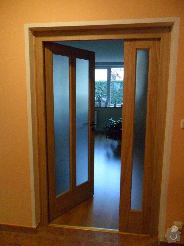 Masivní interiérové dveře včetně zárubně: SAM_0667_dvere_masiv