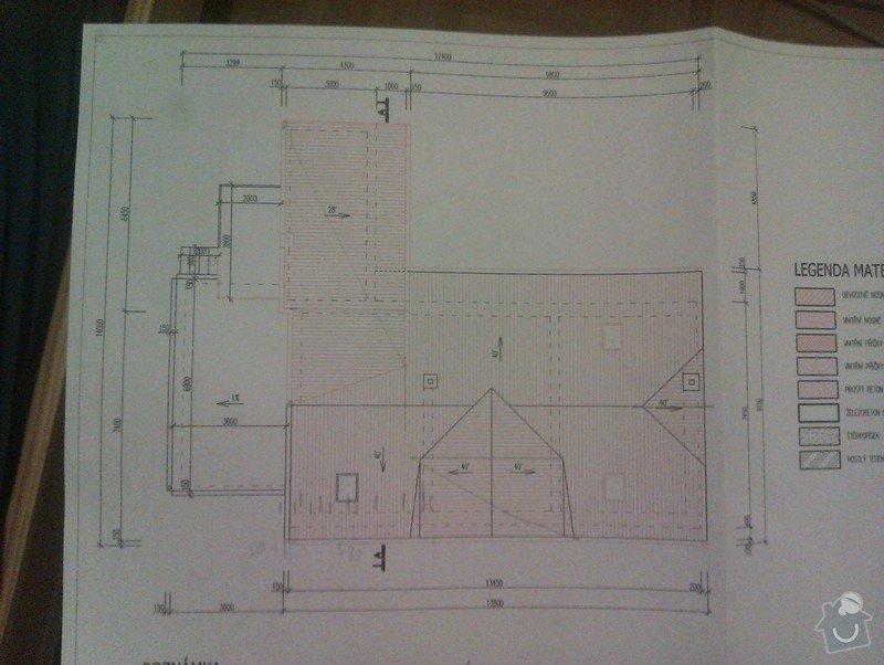 Střecha postaveni noveho krovu cca 200m2: IMAG0035