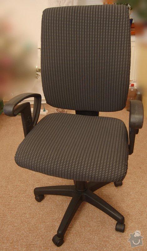 Čalounění sedáku a opěradla židle: DSC_0023_res