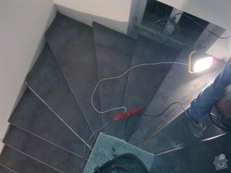 Točité ocelové schody a plot: 100220131078