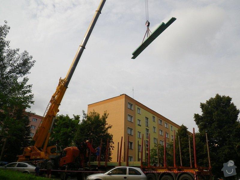 Technický dozor investora při realizaci střešní nástavby: IMGP6529