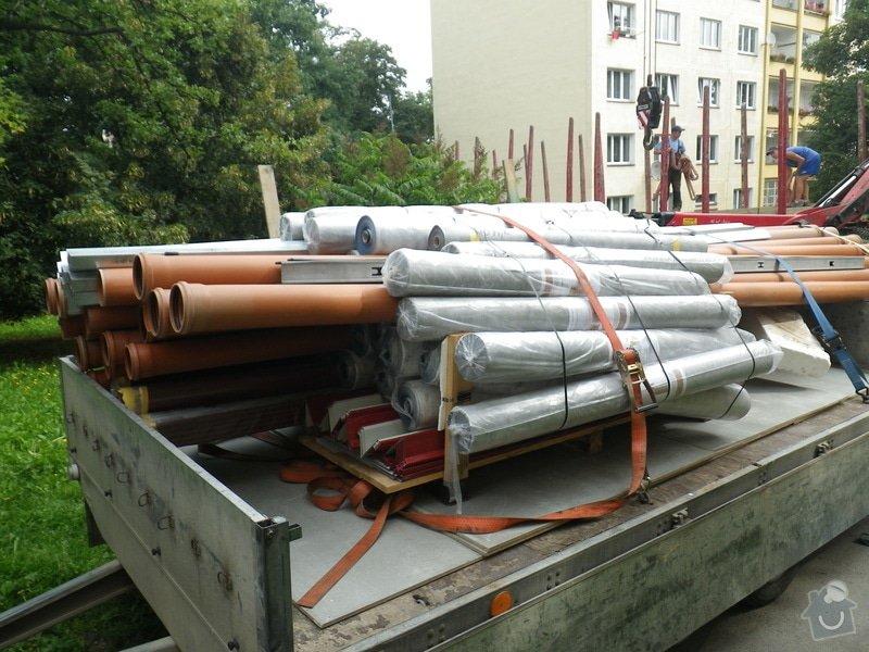 Technický dozor investora při realizaci střešní nástavby: IMGP6532