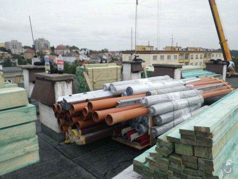Technický dozor investora při realizaci střešní nástavby: IMGP6537