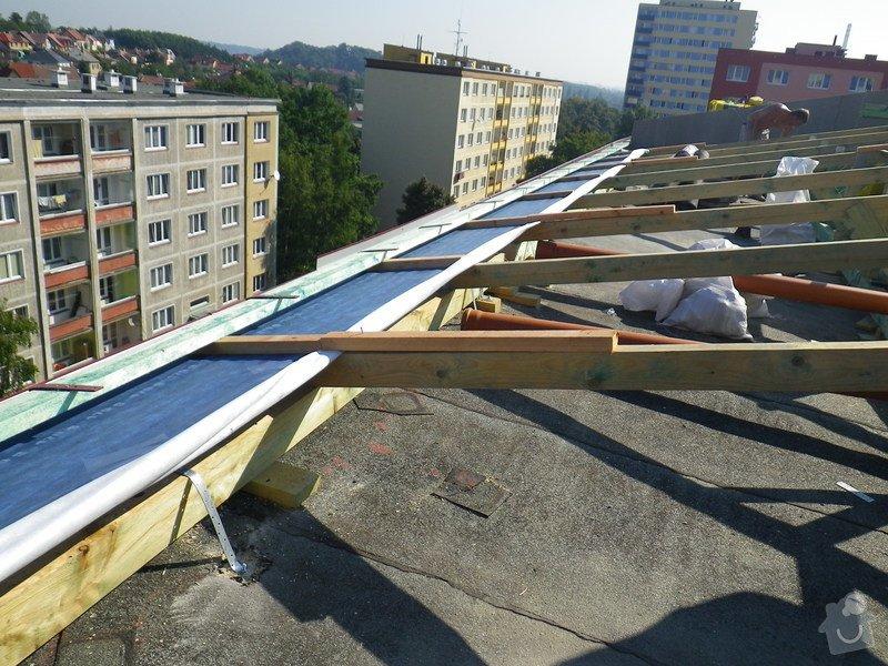 Technický dozor investora při realizaci střešní nástavby: IMGP6867
