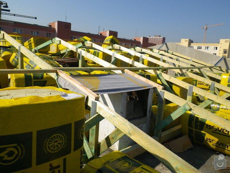 Technický dozor investora při realizaci střešní nástavby: IMGP6875