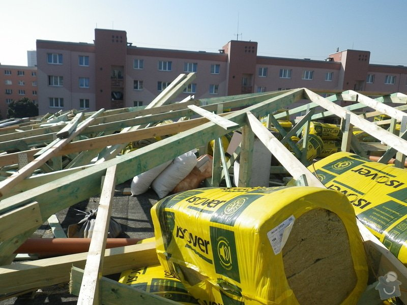 Technický dozor investora při realizaci střešní nástavby: IMGP6880