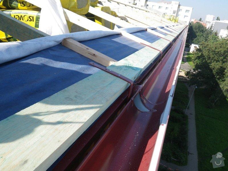 Technický dozor investora při realizaci střešní nástavby: IMGP6882