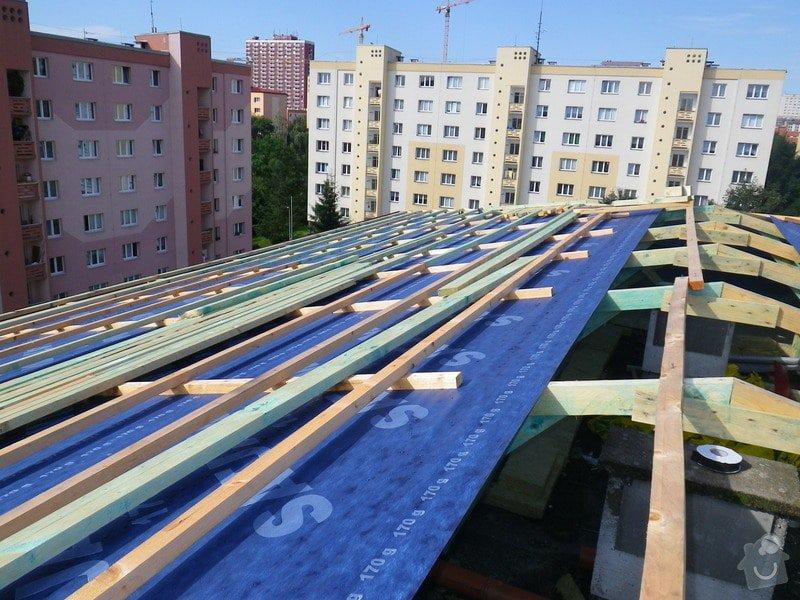 Technický dozor investora při realizaci střešní nástavby: IMGP7078