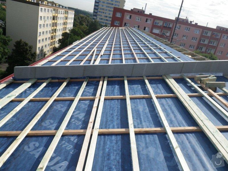 Technický dozor investora při realizaci střešní nástavby: IMGP7082