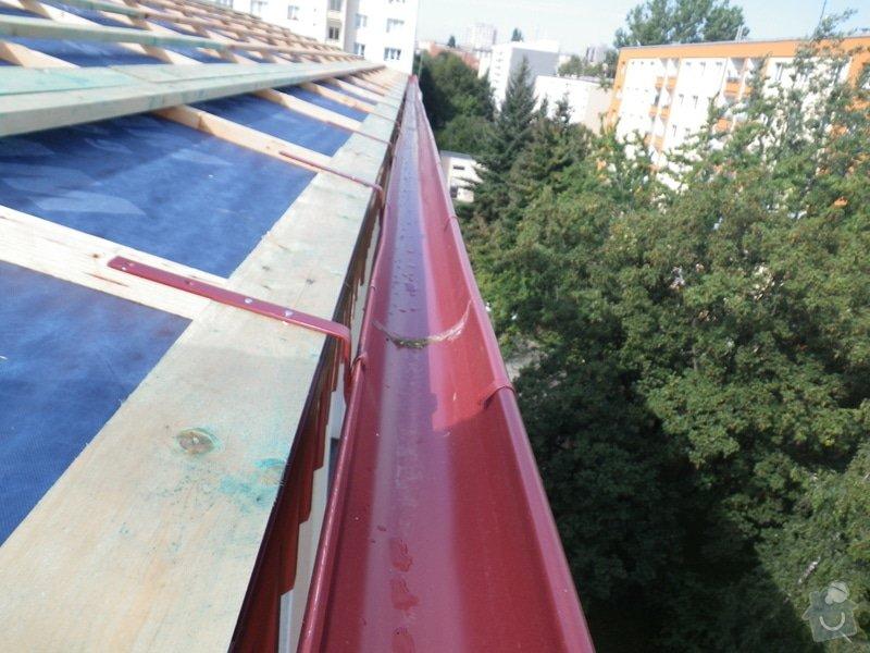 Technický dozor investora při realizaci střešní nástavby: IMGP7090